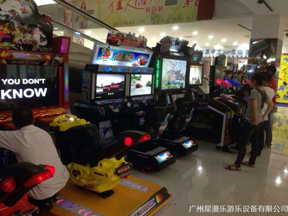 今年又增加了一批成人電玩設備(TT摩托車、賽車模擬機、成人格斗機……)約三兩個好友來一場刺激的賽車飆車游戲機吧。