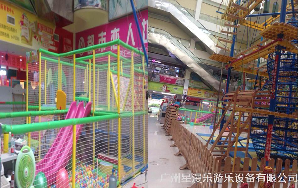 兒童淘氣堡和攀爬:夏日炎炎的暑假里,無論是幼兒園的小朋友還是上小學的小朋友,都能在兒童樂園里找到快樂。