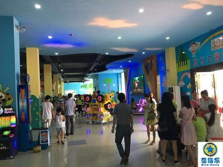 儿童电玩城设备-大型游戏机厂家客户