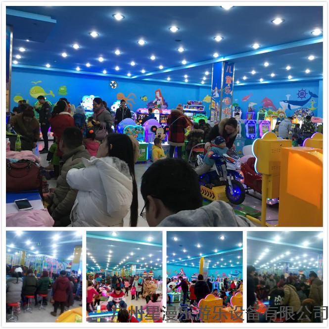 江苏徐州忂宁县吴姐的星力游乐儿童乐园,开业当天,从乐园方面发给我们的照片来看,人气相当好,生意肯定也很火爆……